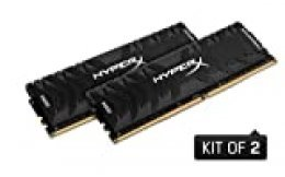 HyperX Predator - Memoria RAM de 32 GB (DDR4, Kit 2 x 16 GB, 3600 MHz, CL17, DIMM XMP, HX436C17PB3K2/32)