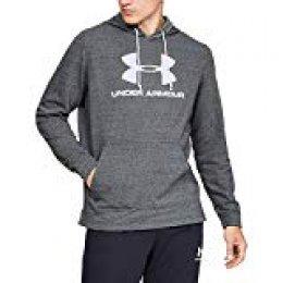 Under Armour Sportstyle Terry Logo Parte Superior del Calentamiento, Hombre