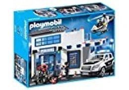 PLAYMOBIL Policía- Mega Set, única (9372)