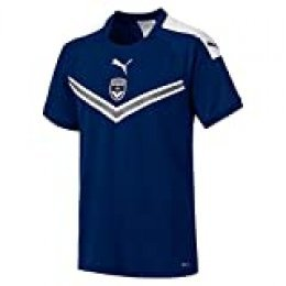 PUMA Fcgb Home Shirt Replica SS Without Sponsor Maillot, Hombre, New Navy, XXL