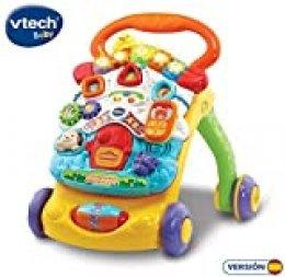 VTech - Correpasillos Andandín 2 en 1, Diseño Mejorado, Andador Bebé InTeractivo Plegable y Regulador de Velocidad, Multicolor (80-505622) , color/modelo surtido