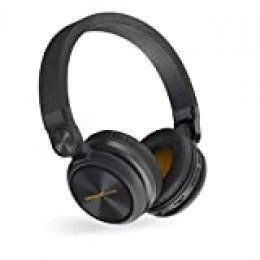 Energy Sistem Headphones BT Urban 2 Radio Black (Auriculares inalambricos, Reproductor MP3 microSD, Radio, Bluetooth)