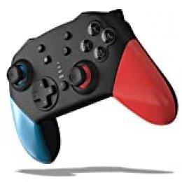 JOYSKY Mando para Nintendo Switch,Bluetooth Controlador,somatosensorial de 6 Ejes, Turbo función Ajustable, Motor de Doble vibración, Joystick multifunción para Juegos de Nintendo Switch