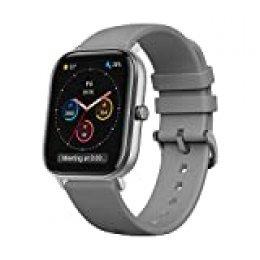Amazfit GTS Smartwatch Fitness tracker con multitud de perfiles de actividad físcia y con GPS embebido, resistencia al agua 5 ATM (Gris)