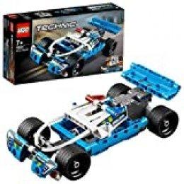 LEGO Technic - Cazador Policial, coche de juguete para construir e imaginar aventuras (42091)