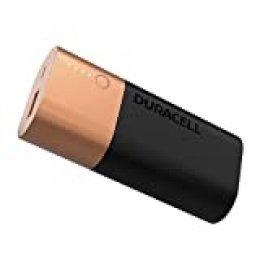 Duracell Powerbank 6700 mAh, batería externa de carga rápida para smartphones y dispositivos con alimentación USB
