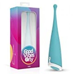 Good Vibes Only Hani Pin Point Vibrador – Estimulación del Clítoris Dirigida a Prueba de Agua – Vibrador Clítorico Recargable - Azul