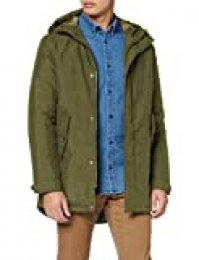 Jack & Jones Jorclan Parka, Verde (Forest Night Forest Night), Small para Hombre