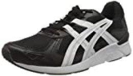 ASICS Gel-Lyte Runner 2, Zapatillas para Correr para Hombre, Black White, 40.5 EU