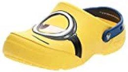 Crocs Fun Lab Minions Clog, Unisex Niños Zueco, Amarillo (Yellow), 19-20 EU