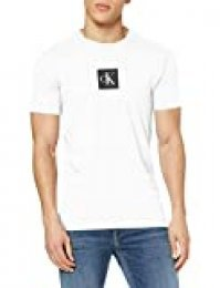 Calvin Klein Center Monogram Box Slim tee Camiseta para Hombre