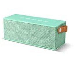 Fresh'N Rebel Rockbox Brick - Altavoz portátil con Bluetooth, color turquesa