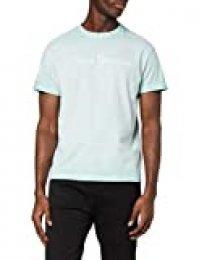 Pepe Jeans West Sir Camiseta, Azul (Dark Acqua 518), Medium para Hombre