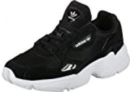 adidas Falcon W, Running Shoe Womens, Core Black/Core Black/Footwear White, 40 EU