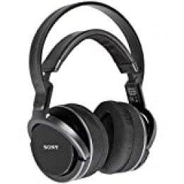 Sony RF MDR-RF855RK - Auriculares De Diadema Cerrados Para Television Sin Bluetooth, Color Negro