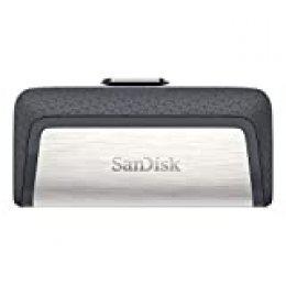 SanDisk Memoria Flash USB 128 GB para tu smartphone Android - Ultra Dual DriveType-C - USB 3.1