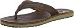 Quiksilver Carver Nubuck-Sandals For Men, Zapatos de Playa y Piscina para Hombre