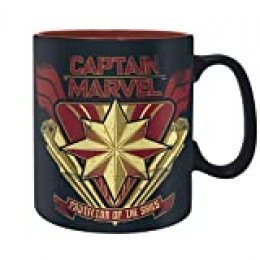 ABYstyle - Marvel -  Captain Marvel - Taza - 320 ml – Captain Marvel