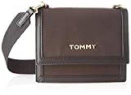 Tommy Hilfiger - Seasonal Crossover, Bolsos bandolera Mujer, Negro (Black), 1x1x1 cm (W x H L)