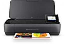 HP OfficeJet 250 Mobile AiO - Impresora multifunción (Inyección de tinta térmica, 600 x 600 DPI, 600 x 600 DPI, A4, 216 x 356 mm, Color)