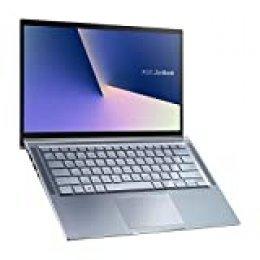 "ASUS ZenBook 14 UM431DA-AM022 - Portátil de 14"" FullHD (Ryzen 7 3700U, 16GB RAM, 512GB SSD, AMD Radeon RX Vega 10, Endless) Metal Azul Utopia - Teclado QWERTY Español"
