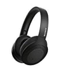 Sony WH-H910N - Auriculares inalámbricos (Bluetooth, Cancelación de Ruido, LDAC, hasta 35h de batería, Hi-Res Audio, h.Ear on, Sonido adaptativo, tecnología de Sensor de Ruido Dual, DSEE HX) Negro