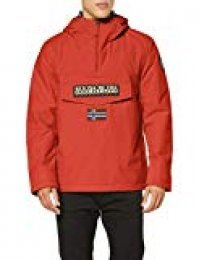 Napapijri Rainforest Winter 1 Chaqueta, Rojo (High Risk Red RA3), XL para Hombre
