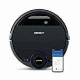 Ecovacs Deebot OZMO 930 - Robot Aspirador 4 en 1: barre, aspira, pasa mopa y friega, mapeo inteligente láser, compatible con Alexa, App, Wifi, reanuda limpieza tras recarga, reporte por voz, alfombras