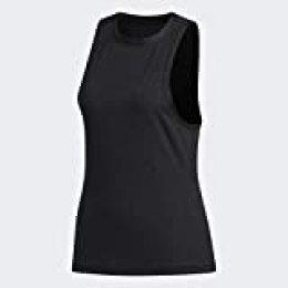adidas Engineered Tank Camiseta sin Mangas, Mujer, Black, XL