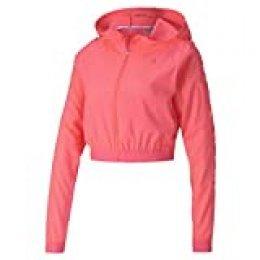 PUMA Be Bold Woven Jacket Chaqueta De Entrenamiento, Mujer, Ignite Pink, L