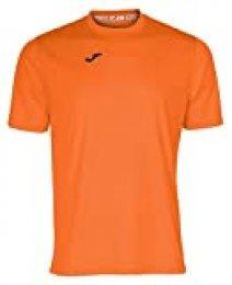 Joma Combi Camiseta Manga Corta, Hombre, Naranja, S