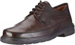 Sioux MARCEL 26263 - Zapatos de cordones para hombre, Braun (trüffel/mocca), 47