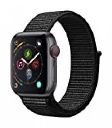 Apple Watch Series 4 Reloj Inteligente Gris OLED Móvil GPS (satélite) - Relojes Inteligentes (OLED, Pantalla táctil, GPS (satélite), Móvil, 30,1 g, Gris)