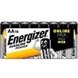Energizer - Pilas alcalinas AA (32 Unidades) AA 16 Unidades