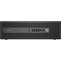 HP EliteDesk 800 G1 - Ordenador de sobremesa (Intel Core i5-4570, 16GB de RAM, Disco HDD de 500GB, Lector DVD, Windows 10 Pro ES 64) - Negro (Reacondicionado)