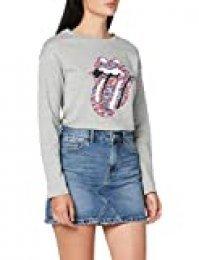 Pimkie Pbs20 K-Denim Faldas Casuales de Mujer, Bleu Moyen, 38