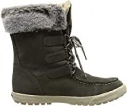 Roxy (ROY11) Rainier-Snow Boots for Women, Botas de Nieve para Mujer, Charcoal Chr, 41 EU