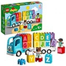 LEGO DUPLO My First - Camión del Alfabeto, Juguete de Construcción de Vehículo para Aprender el Abecedario, Juguete Didáctico Recomendado a Partir de 18 Meses (10915)