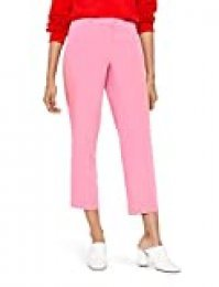 Marca Amazon - find. Pantalones Mujer, Rosa (Pink), 38, Label: S