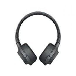 Sony WHH800 - Auriculares de Diadema inalámbricos (H.Ear, Hi-Res Audio, diseño Ligero, Bluetooth, Compatible con aplicación Headphones Connect) Negro