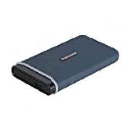 Transcend TS480GESD350C - Disco de Estado sólido, 480 GB, USB 3.1 Gen 2, USB Type-C