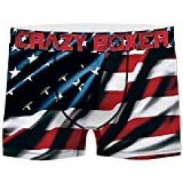 Crazy Boxer Selección de Boxers para Hombre, diseños y lotes Variados
