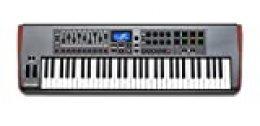 Novation Impulse 61 - Teclado MIDI (USB, 102,2 cm, 33,2 cm, 10 cm, USB) Negro