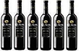 Pata Negra Reserva 2013 Vino Tinto D.O Valdepeñas, Crianza de 12 Meses, Volumen de Alcohol 13% - 6 Botellas x 750 ml - Total: 4500 ml