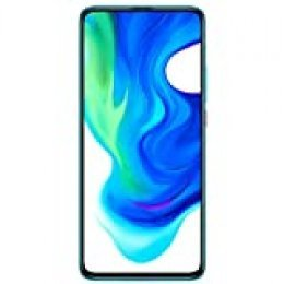 "Xiaomi Poco F2 Pro - Smartphone de 6.67"" (5 G Super AMOLED Screen, 1082 x 2400 pixels, Qualcomm SM 8250 Snapdragon 865, 4700 mAh, Quad Camera, 8 K Video, 6 GB/128 GB RAM), Neon Blue [EU version]"