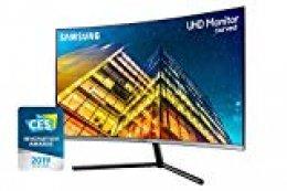 Samsung Monitor U32R592C | Monitor Curvo 32'' 4K sin Marcos (LED, UHD, 60Hz, 4ms, 2500:1)