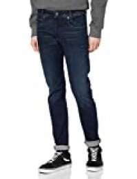 G-STAR RAW D-STAQ 5-Pocket Slim Vaqueros, Dark Aged 8968-89, 31W / 32L para Hombre