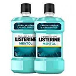 Listerine - Enjuague Bucal Mentol, 1000x2 ml