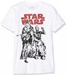 Star Wars Falcon Crew Camiseta para Hombre