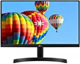 "LG 22MK600M-B - Monitor FHD de 54,6 cm (21,5"") con Panel IPS (1920 x 1080 píxeles, 16:9, 250 cd/m², NTSC >72%, 1000:1, 5 ms, 75 Hz) Color Negro"
